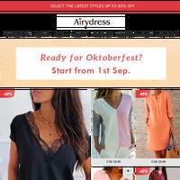 Ready for Oktoberfest? Start from 1st Sep.