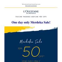 Last Chance To Shop Merdeka Sale!