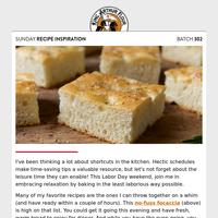 Sunday Recipe Inspiration: Labor-free baking