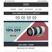 Canon Newsletters, Email Campaigns, Marketing Emails, Email