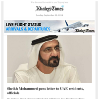 Sheikh Mohammed vows a better deal for Emiratis; Nearly 2 million people face statelessness in India; Brace up for back-to-school rush hours in UAE