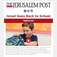 WATCH! Israeli youth go back to school