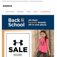 Under Armour savings are here (just in time for back to school) 🏃🏽