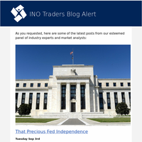 That Precious Fed Independence