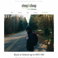 Back to School up to 80% Off