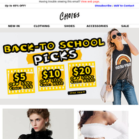 Big Sales-Back To School❇New in Autumn