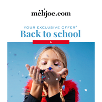 Last day: 15% off back to school items