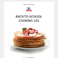 Take the Stress Out of Back-to-School Cooking