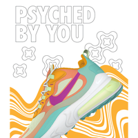 Air Max 270 React goes Psychedelic