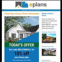 Saturday House Plan Inspiration and Savings