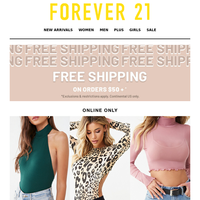 DEAL OF THE DAY: 50% OFF TOPS!!!
