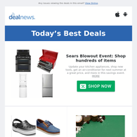 Today's Staff Picks: Sears Blowout Event | Up to 70% off Crocs Warehouse Clearance | Up to 46% off Amazon Devices Back to School Sale