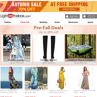 Pre-Fall Deals ★ From USD $0.99