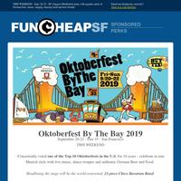 Shhhh… Secret Code: Oktoberfest By the Bay (Sept 20-22)