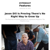 Jason Dill Is Proving There's No Right Way to Grow Up