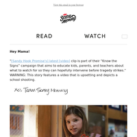 Sandy Hook Promise Releases Chilling Back-To-School PSA