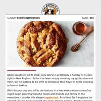Sunday Recipe Inspiration: Beyond apple pie