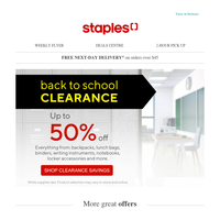 🔥 Back to School CLEARANCE