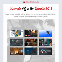 Unite with the Humble Unity Bundle 2019!