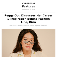 Peggy Gou Discusses Her Career & Inspiration Behind Fashion Line, Kirin