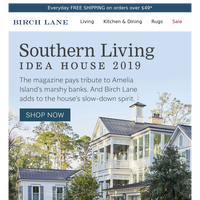 The SOUTHERN LIVING Idea House