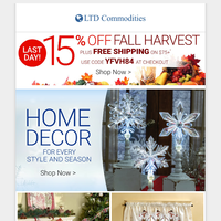 Home Decor Inspiration + Fall Harvest SALE