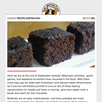 Sunday Recipe Inspiration: Get ready for Choctober!