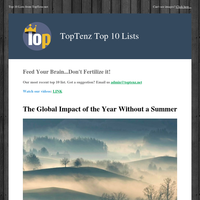 The Global Impact of the Year Without a Summer