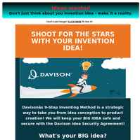 Have an invention or product idea? Put our experience to work.