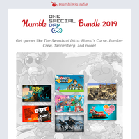 It's everyone's turn to play with the Humble One Special Day Bundle 2019!