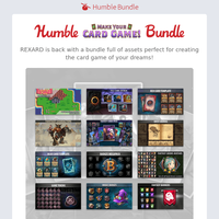 Play your cards right with the Humble Make Your Card Game! Bundle!