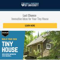Which tiny house idea is your favorite?
