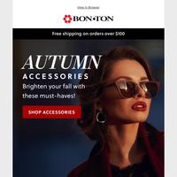 Autumn Accessories: Sunglasses, handbags & more!