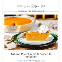 Autumn Pumpkin Pie Is Spiced to Perfection