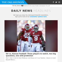 OU vs. Kansas football: Three players to watch, two big questions, one wild prediction
