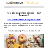 Welcome Fall with 5 Favorite Recipes