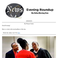 Guyger verdict and Dallas race relations, anime's #MeToo court case: Your Friday evening roundup