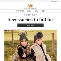 Autumn accessories to fall for...