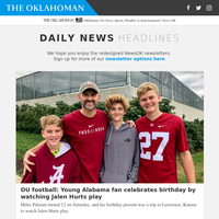 OU football: Young Alabama fan celebrates birthday by watching Jalen Hurts play