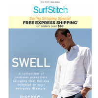 SWELL | New collection of Summer essentials 🌴