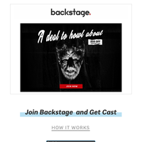 🎃 Halloween Sale | Save $50 On Your First Year of Backstage