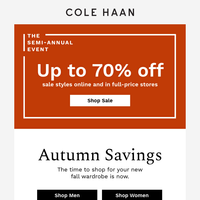Shop our best sale of the season
