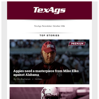 A&M-Alabama matchup should provide clarity for both teams & Aggies need a masterpiece from Mike Elko