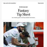 Fantasy Football Tip Sheet: Why you should always know who's playing the Dolphins