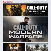 Save big on Call of Duty and Sid Meier's Civilization this weekend + GRID 2019 out now!