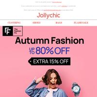 Autumn Fashion: use code \