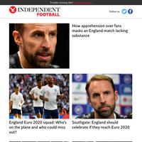 How apprehension over fans masks an England match lacking substance