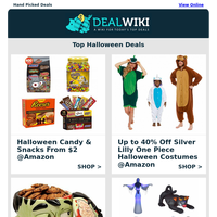👻 Scary Good Halloween Deals - Up to 80% Off!