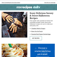 Scary Delicious Savory & Sweet Halloween Recipes
