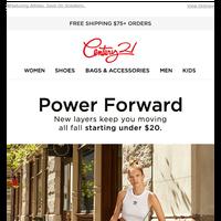 Autumn Activewear | Starting Under $20